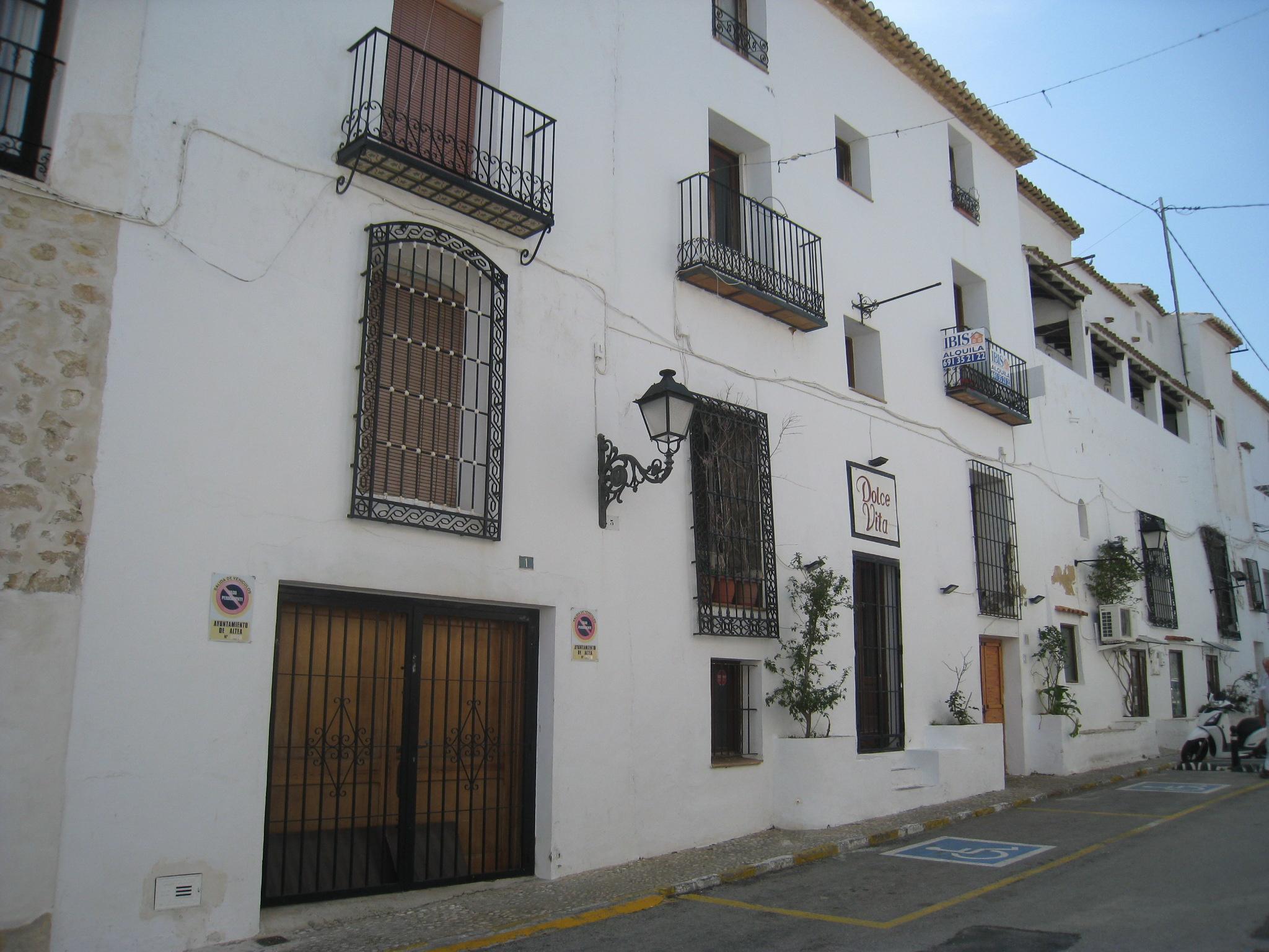00739 restaurante y casa en venta casco antiguo altea inmoibis alquiler venta inmuebles - Casas alquiler altea ...
